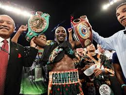 Crawford with 2 belts